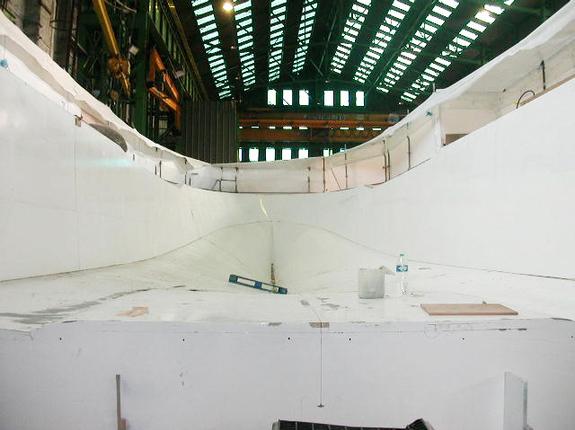 Intérieur construction composite